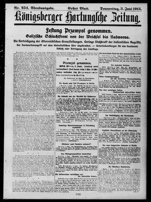 Königsberger Hartungsche Zeitung vom 03.06.1915