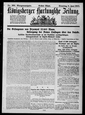 Königsberger Hartungsche Zeitung vom 08.06.1915