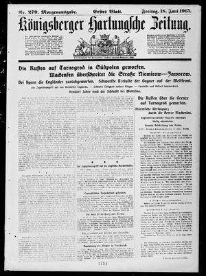 Königsberger Hartungsche Zeitung vom 18.06.1915