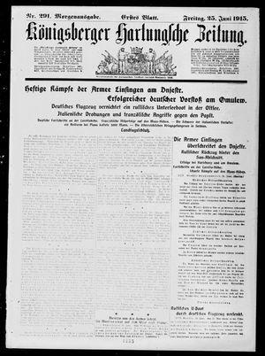 Königsberger Hartungsche Zeitung vom 25.06.1915