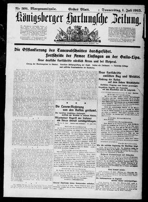 Königsberger Hartungsche Zeitung vom 01.07.1915