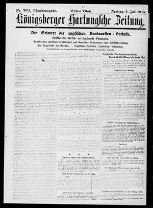 Königsberger Hartungsche Zeitung on Jul 2, 1915