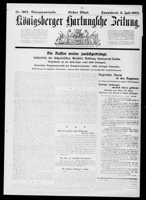Königsberger Hartungsche Zeitung vom 03.07.1915