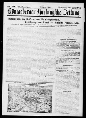 Königsberger Hartungsche Zeitung vom 28.07.1915