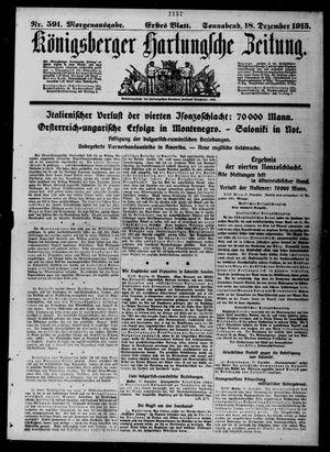 Königsberger Hartungsche Zeitung vom 18.12.1915