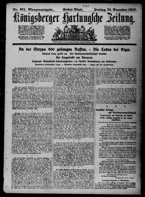 Königsberger Hartungsche Zeitung on Dec 31, 1915