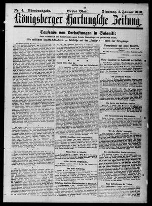 Königsberger Hartungsche Zeitung vom 04.01.1916