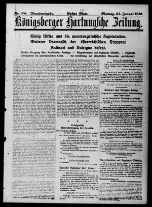 Königsberger Hartungsche Zeitung vom 24.01.1916