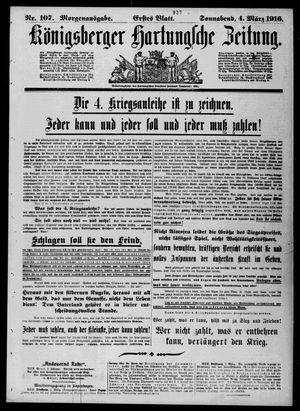 Königsberger Hartungsche Zeitung vom 04.03.1916