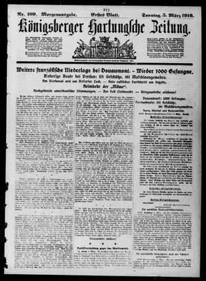 Königsberger Hartungsche Zeitung vom 05.03.1916