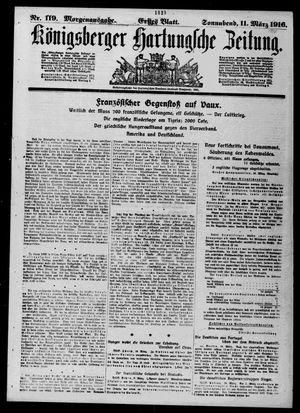 Königsberger Hartungsche Zeitung vom 11.03.1916