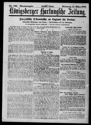Königsberger Hartungsche Zeitung vom 15.03.1916