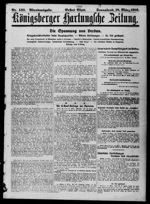 Königsberger Hartungsche Zeitung vom 18.03.1916