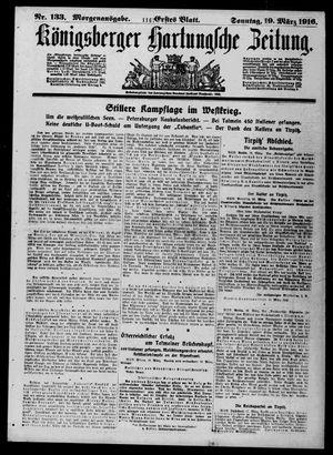 Königsberger Hartungsche Zeitung vom 19.03.1916