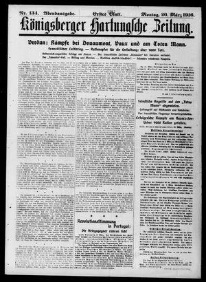 Königsberger Hartungsche Zeitung vom 20.03.1916