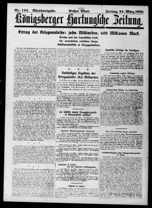 Königsberger Hartungsche Zeitung vom 24.03.1916