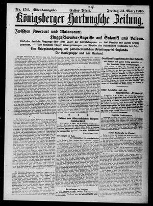 Königsberger Hartungsche Zeitung on Mar 31, 1916