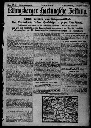 Königsberger Hartungsche Zeitung vom 01.04.1916