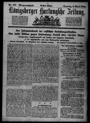 Königsberger Hartungsche Zeitung vom 02.04.1916
