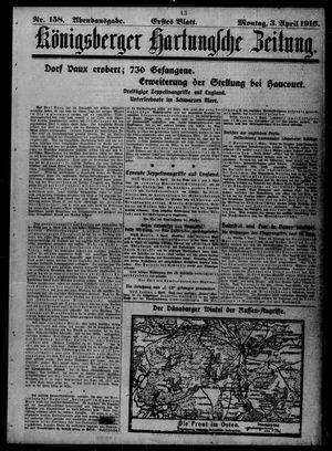 Königsberger Hartungsche Zeitung vom 03.04.1916