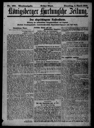 Königsberger Hartungsche Zeitung vom 04.04.1916