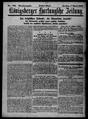 Königsberger Hartungsche Zeitung vom 07.04.1916