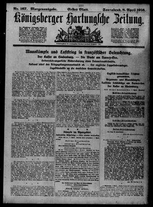 Königsberger Hartungsche Zeitung vom 08.04.1916