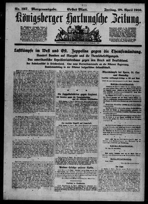 Königsberger Hartungsche Zeitung vom 28.04.1916