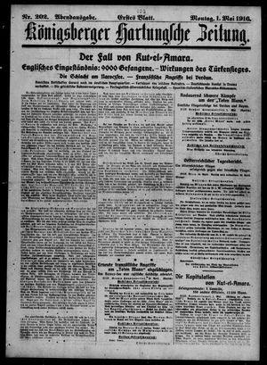 Königsberger Hartungsche Zeitung vom 01.05.1916