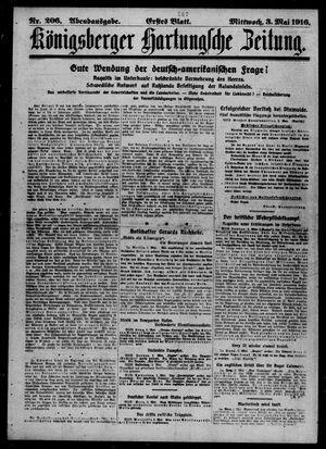 Königsberger Hartungsche Zeitung vom 03.05.1916