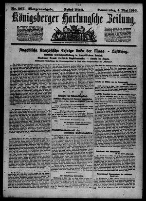 Königsberger Hartungsche Zeitung vom 04.05.1916