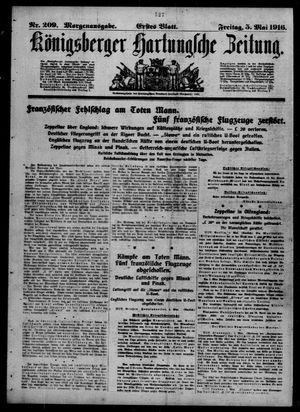 Königsberger Hartungsche Zeitung on May 5, 1916