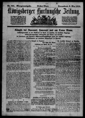 Königsberger Hartungsche Zeitung on May 6, 1916