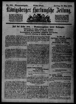 Königsberger Hartungsche Zeitung vom 12.05.1916