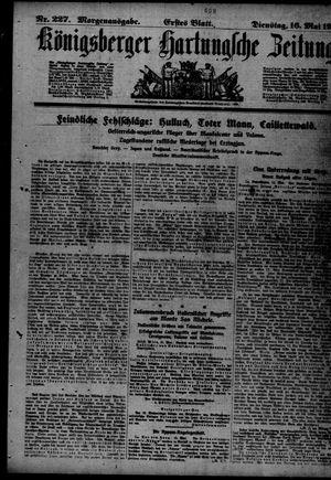 Königsberger Hartungsche Zeitung vom 16.05.1916