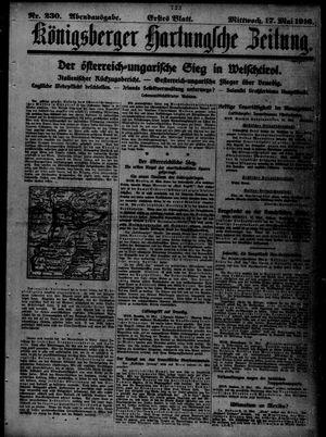 Königsberger Hartungsche Zeitung vom 17.05.1916