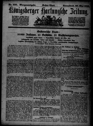Königsberger Hartungsche Zeitung vom 20.05.1916