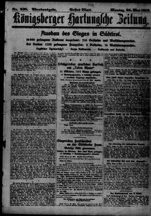 Königsberger Hartungsche Zeitung vom 22.05.1916