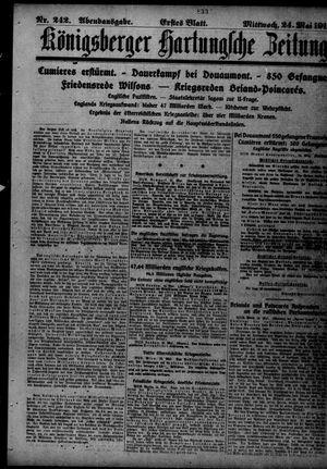 Königsberger Hartungsche Zeitung vom 24.05.1916