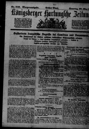 Königsberger Hartungsche Zeitung vom 28.05.1916