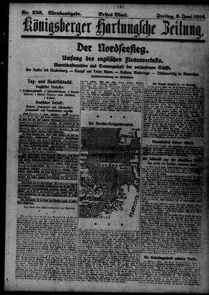 Königsberger Hartungsche Zeitung on Jun 2, 1916