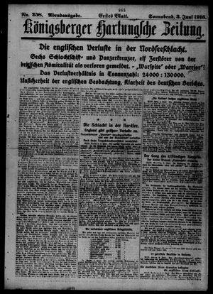 Königsberger Hartungsche Zeitung vom 03.06.1916