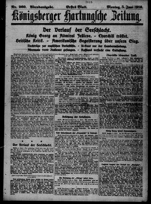 Königsberger Hartungsche Zeitung vom 05.06.1916