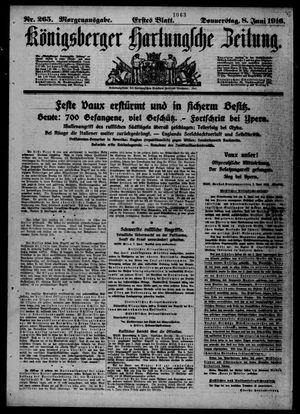 Königsberger Hartungsche Zeitung vom 08.06.1916