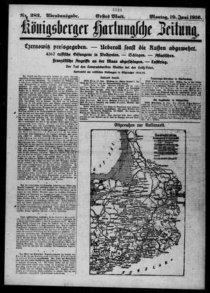 Königsberger Hartungsche Zeitung vom 19.06.1916