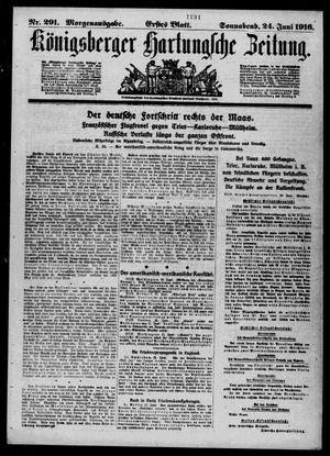 Königsberger Hartungsche Zeitung vom 24.06.1916