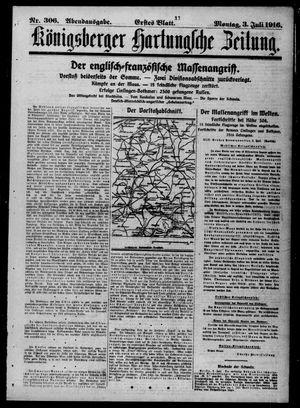 Königsberger Hartungsche Zeitung vom 03.07.1916