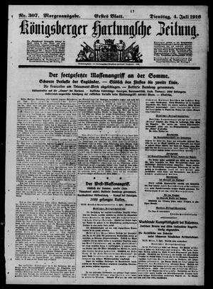 Königsberger Hartungsche Zeitung vom 04.07.1916