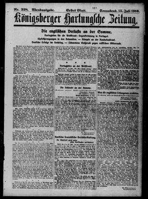 Königsberger Hartungsche Zeitung vom 15.07.1916