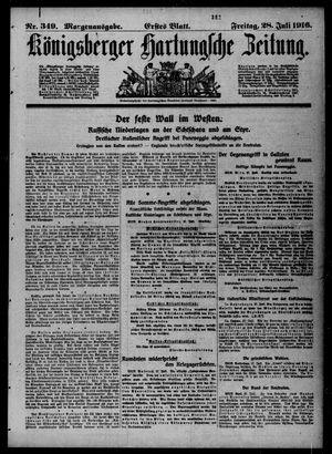 Königsberger Hartungsche Zeitung on Jul 28, 1916